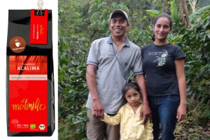 Unser Kaffee COMUCAP heisst ab sofort ACALIMA:  Neuer Name, aber bekannter Geschmack